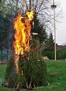 FOTKA - A teď je čas na pálení čarodějnic...