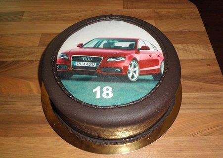 FOTKA - Audi A4 k narozeninám