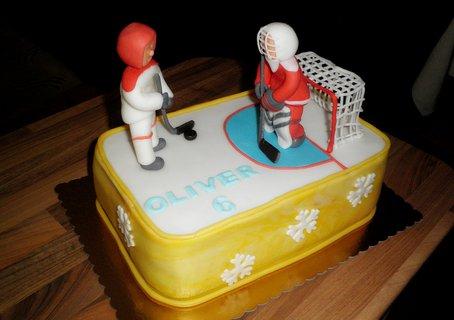 FOTKA - Hokejisté k narozeninám