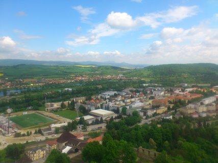 FOTKA - Trenčín - na věži