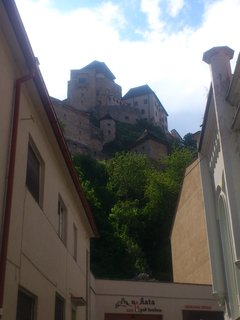 FOTKA - Trenčín - pohled na hrad