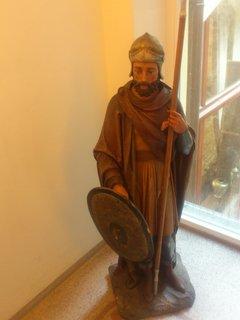 FOTKA - Trenčín - socha, v hotelu Elizabeth