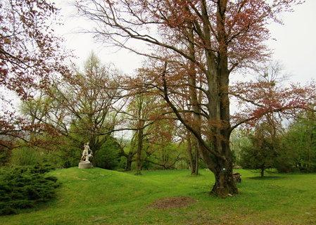 FOTKA - Socha v parku u Nov�ho Sv�tlova