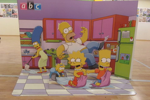 FOTKA - Výstava originálních vystřihovánek ABC: Kdo by nepoznal