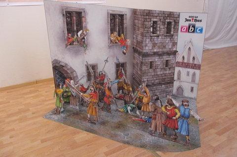 FOTKA - Výstava originálních vystřihovánek ABC :  historické události