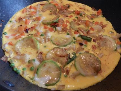 FOTKA - Cuketovozeleninová omeleta