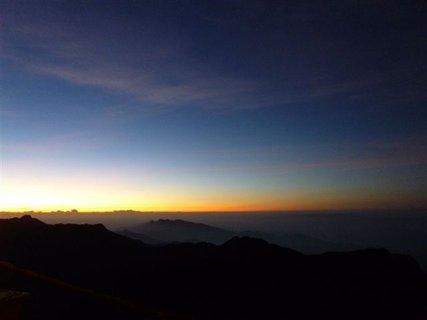 FOTKA - Východ slunce - svatá Adamova hora