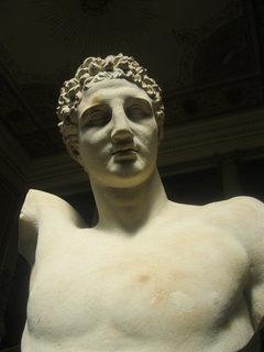 FOTKA - socha v muzeu