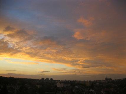 FOTKA - mraky se předvádějí