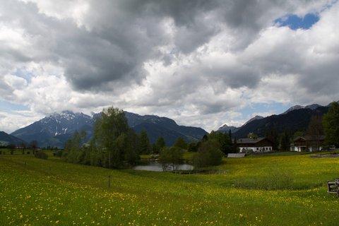 FOTKA - Kolečko okolo Ramseidenu - Rybníček v Oedt