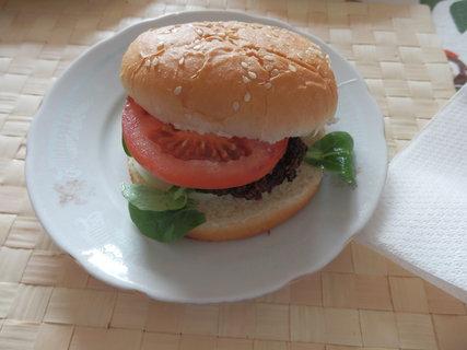 FOTKA - domácí hamburger