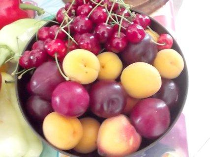 FOTKA - mísa ovoce letního
