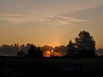 FOTKA - Takhle nám ta cesta do Brna začínala - krásné ráno