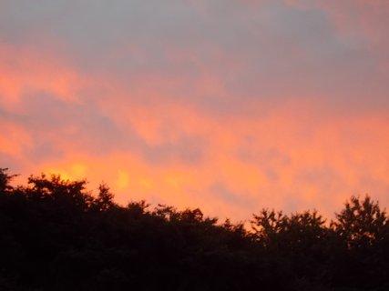 FOTKA - dnešní měnící se nebe
