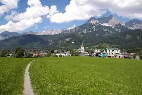FOTKA - Letní procházka u Ritzensee - Cesticka nad Saalfeldenem