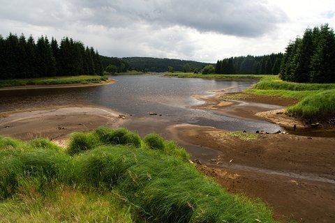 FOTKA - Flájská přehrada se odpouští....