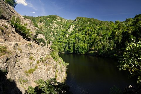 FOTKA - Na stezce podél přehrady