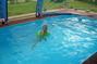 Dnešní koupání v bazénu