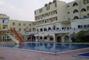bazén a část hotelu