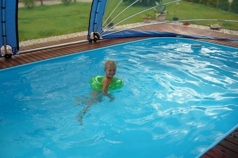 FOTKA - Dnešní koupání v bazénu