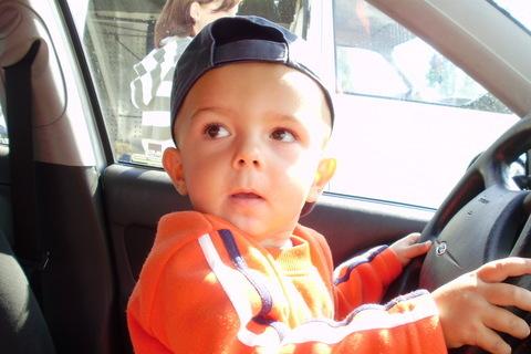 FOTKA - malý řidič