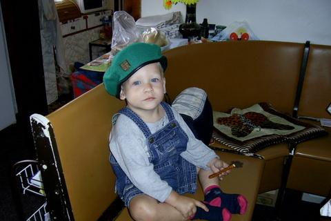 FOTKA - vnouček Kubiček