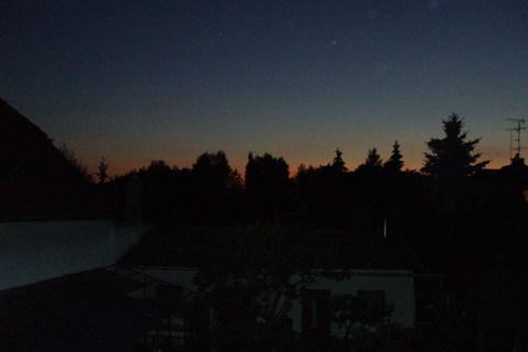 FOTKA - dnšní večer