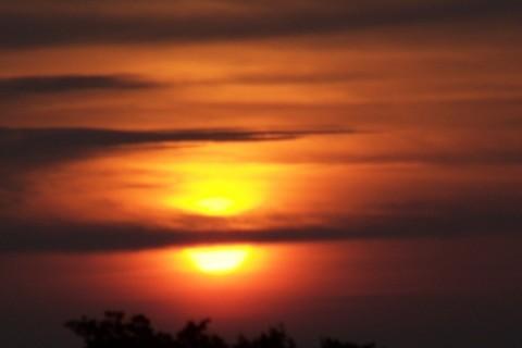 FOTKA - východ slunce..