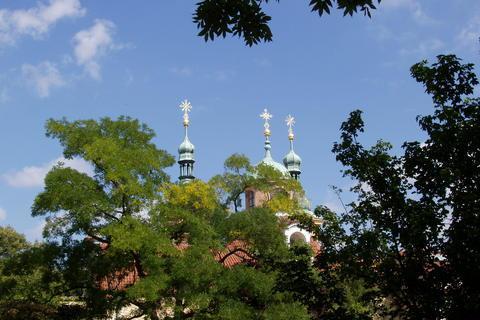 FOTKA - kostel sv. Vavřince na Petříně