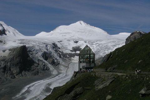 FOTKA - Alpy -  pohled na ledovec