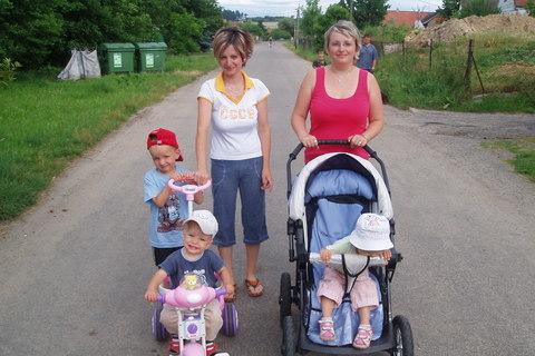 FOTKA - My a teta s Vikčou
