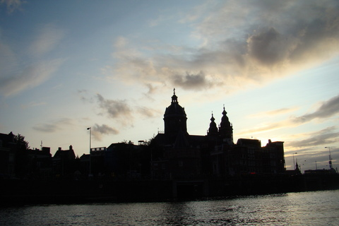 FOTKA - večer v Amsterdamu