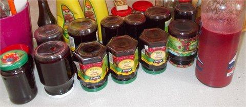 FOTKA - šťáva a džem z černého rybízu