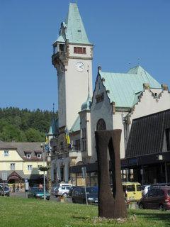 FOTKA - náměstí v Rokytnici nad Jiz.