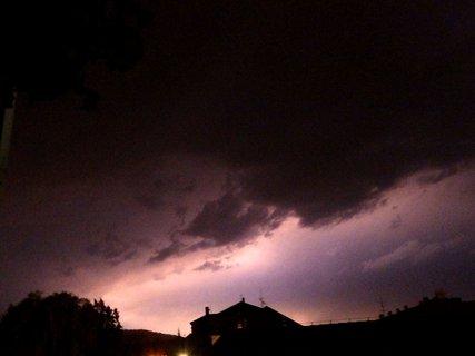 FOTKA - Zkoušela jsem fotit blesky