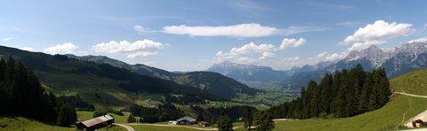 FOTKA - Hintermoos - Pohled z kopce