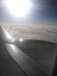 FOTKA - z letadla foto, věnovala mi kamarádka pár fotek z dovolené na Bali, na Krétě