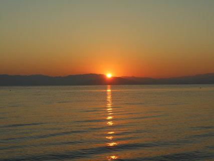 FOTKA - Západ slunce nad mořem