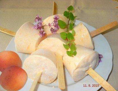 FOTKA - Domácí meruňkové nanuky