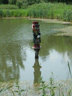 FOTKA - vodník na rybníku