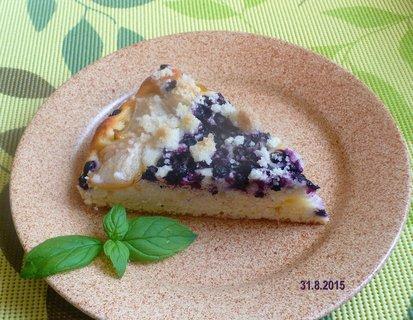 FOTKA - Hruškovo-borůvkový koláč