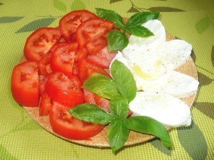 FOTKA - Mozzarela s rajčaty