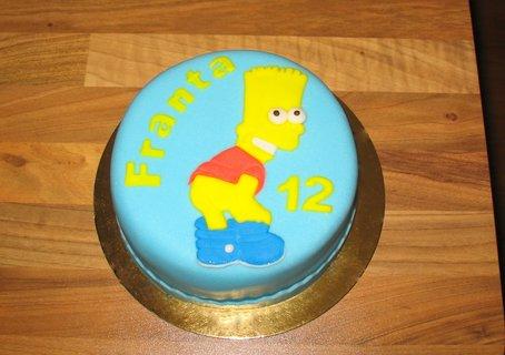 FOTKA - Bart Simpson k narozeninám