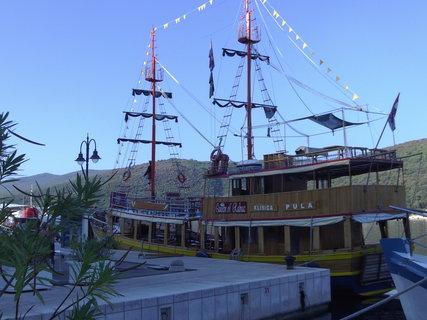 FOTKA - Pirátská loď
