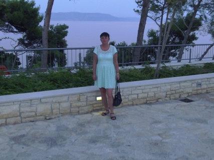 FOTKA - Tady jsem já na procházce podél pobřeží