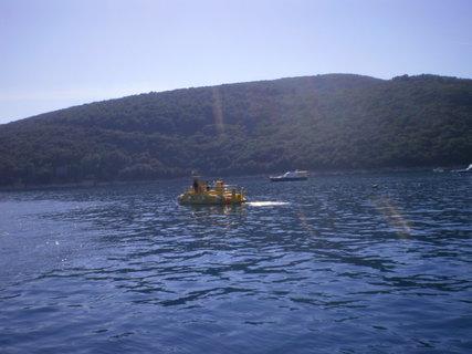 FOTKA - Ponorka na moři