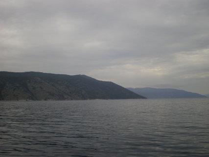 FOTKA - Zalesněné kopce ostrova Cres