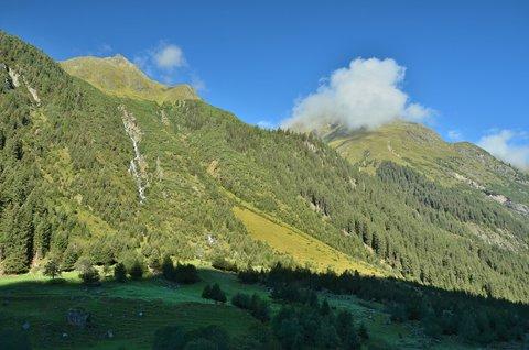FOTKA - Ráno nad Pitztalským údolím