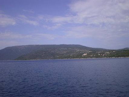 FOTKA - Zalesněný ostrov Cres