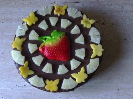 FOTKA - Vídeňský dortík s ananasem